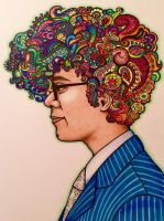 The Mind of Richard Ayoade by Tennessee-Girl