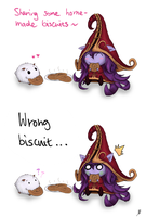 Poro Snax or Biscuit of Rejuvenation? by ema591