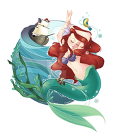The Little Mermaid by Flying4Freedom