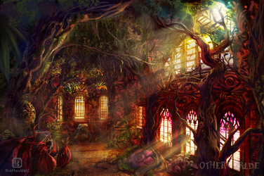 Greenhouse for voracious plants by MalthusWolf