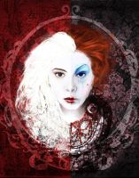 As the Red and White Queen by shanaimal