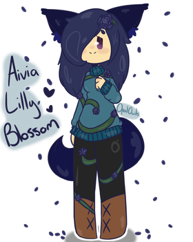 Kutekinqqq Request - Aivia Lilly Blossom by OpalOwls