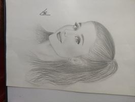 Ariana Grande sketch by AndyVRenditions