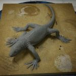 Reptile Ancestor WIP by Thomasotom