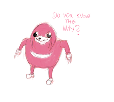 Ugandan Knuckles by JMK-Prime