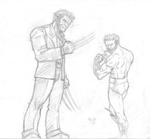 wolverine 2 sketch by ironman628