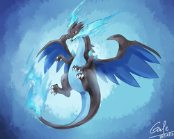 [Speed Paint] Charizard X by Galecoroco