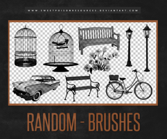 Random Brushes | Photoshop by sweetpoisonresources