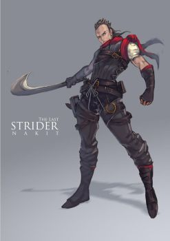 The Last Strider : Nakit by bayanghitam