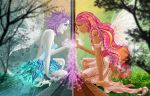 Winter n Spring: The Curiosity by hotpinkscorpion