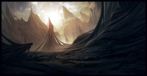 Organic mountains by AndreeWallin