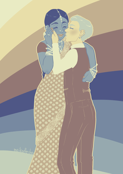Madhavi and Alex by Melolontha2
