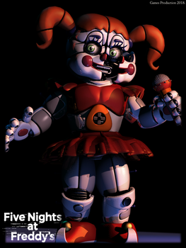 Circus Baby - TFF Full Render Style by GamesProduction