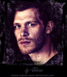 Joseph Morgan (digital portrait) by Elaine-captain-swan