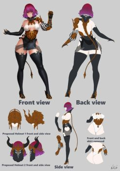 Black Desert Online 2018 Costume Design Contest by fllamjr