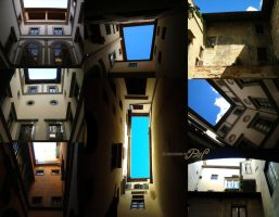 Light wells (Florence) by Panaiotis