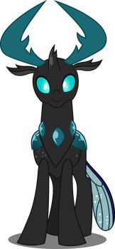King Thorax (Old Colors) by DashieSparkle