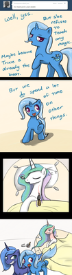 Ask Trixie - Luna's Student by TheParagon
