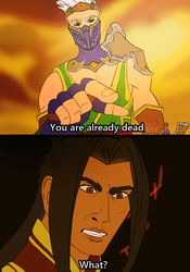 Koga and Zhin by Karameile