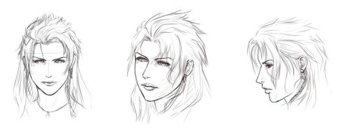 FFXIII: Fang (sketch) by yuiseppe