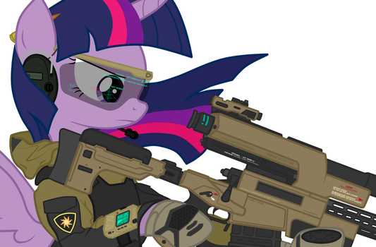 Twilight Recon Sniper (close up) by orang111