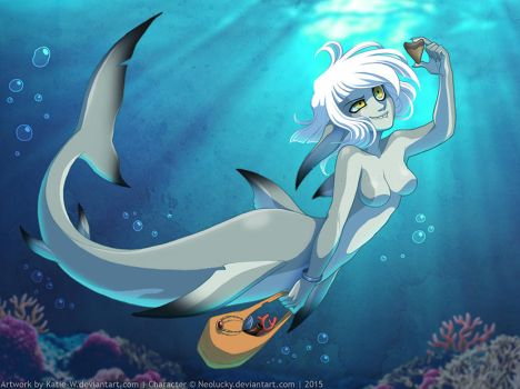 The Little Sharkmaid by Katie-W