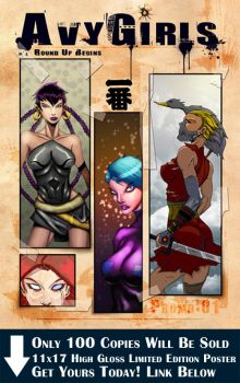 Avy Girl Poster 01 by comictutorials
