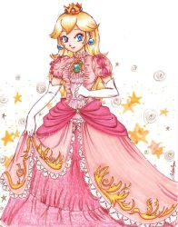 Princess Peach by YunaSakura