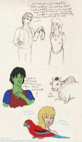 More King's Quest doodles by Akril15