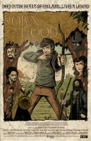 BBC Robin Hood Movie Poster by DaveBardin