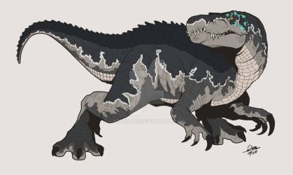 Baryonyx (Fallen Kingdom) by Michiragi