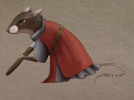 Warrior Mouse by ClarinettoMafioso