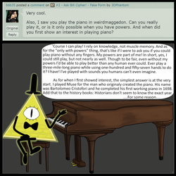 #11 - Ask Bill Cipher! - Piano by 3DPhantom