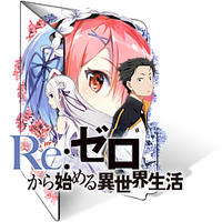 Re:Zero [.ICO] by Dalathan-icons
