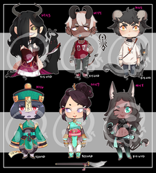 [Adopts] Minis VIII || USD || Closed by skele-tea