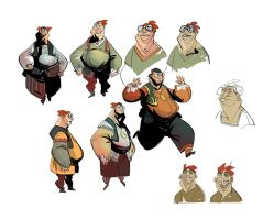 Character sketches by EduardVisan