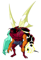 Kevin's Original Mutation - Omniverse Style by Supersketch1220
