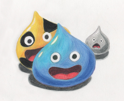 Triple Slime by Hadeki