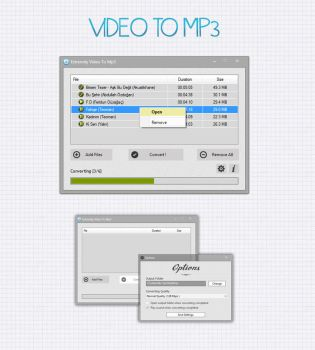 ExtremitySoft Video To MP3 by Divane34