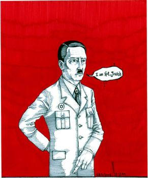 Hitler was Jewish? by strictlypacifist
