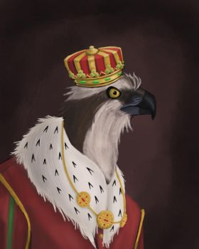 The Great Osprey King by Kaloith