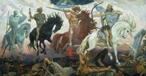 Four Horsemen of Apocalypse by melfranz