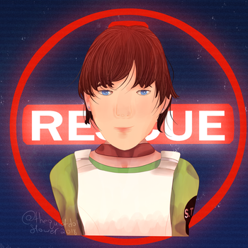 Rebecca Chambers [+ Speed Paint] by thequietdoll