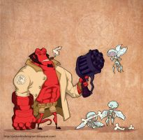 Hellboy by lost-angel-less