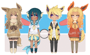 Eeveelution Pt. 1 Adopt Auction [CLOSED] by WanNyan