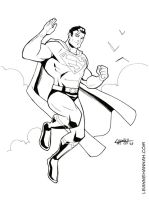 Superman Commish by stratosmacca