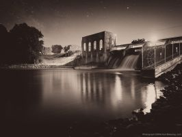 Cascade Dam on Thornapple River by KBeezie