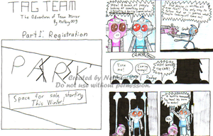 Team Mirror: Part 1: Pages 3+4 by Netbug009