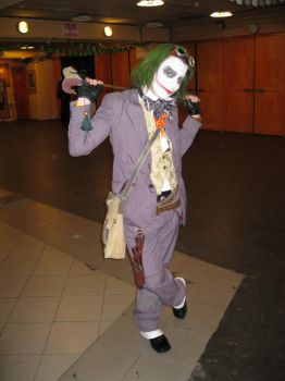 Steampunk Joker by Lord-Vincent