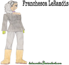 Cs3 - Franchesca LeRamois by Tabacookie